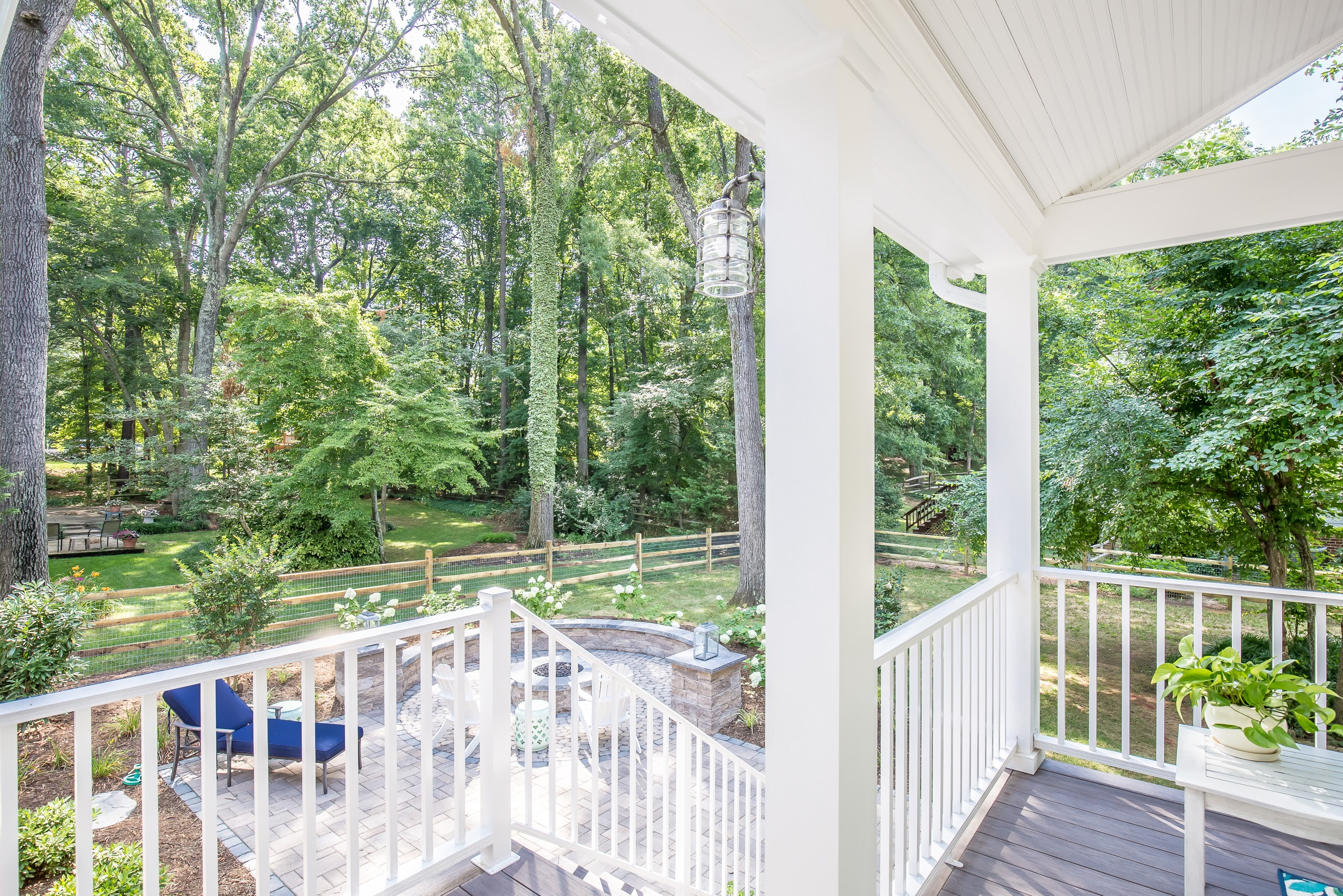 Cottage Style Porch West End Richmond Va Rva Remodeling Llc
