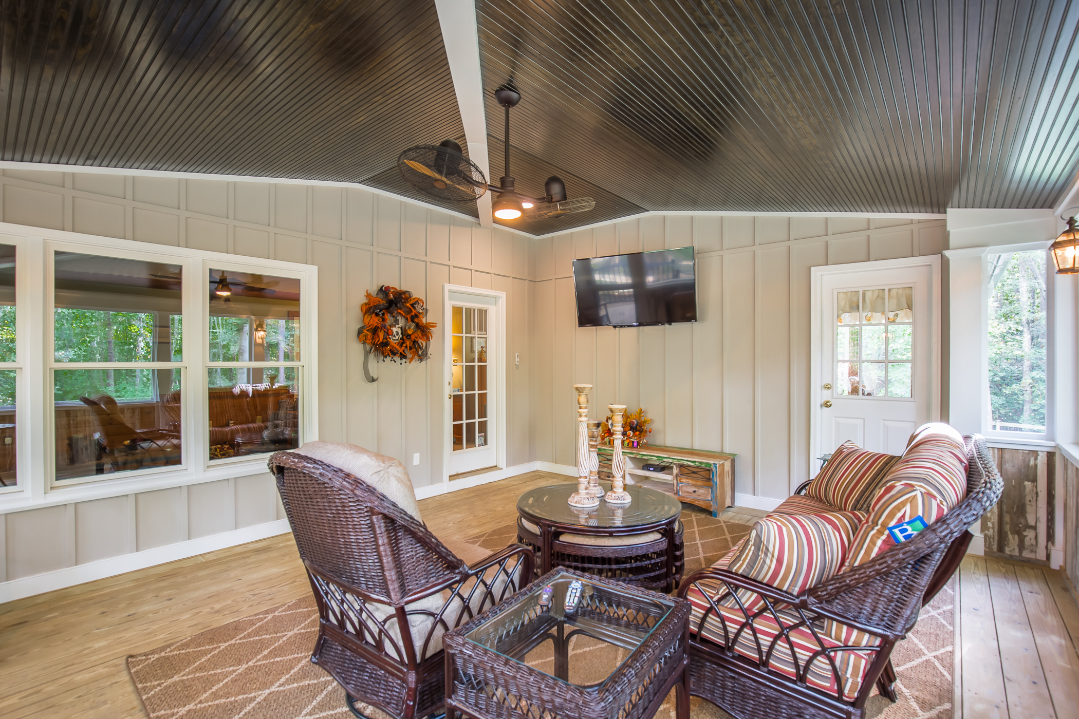 Country Style Screened Porch In Chesterfield Va Rva Remodeling Llc
