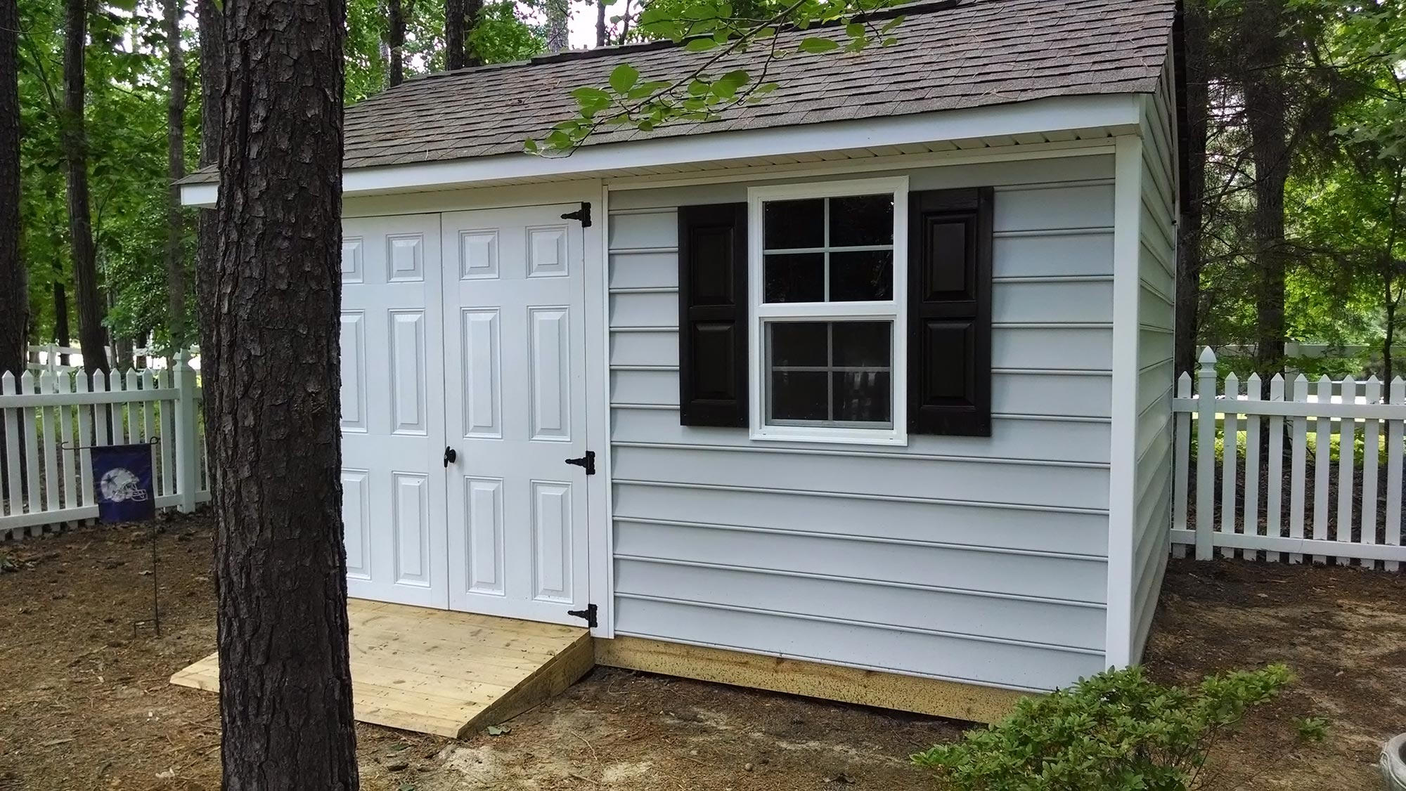 Deck and Storage Shed - Midlothian | RVA Remodeling LLC