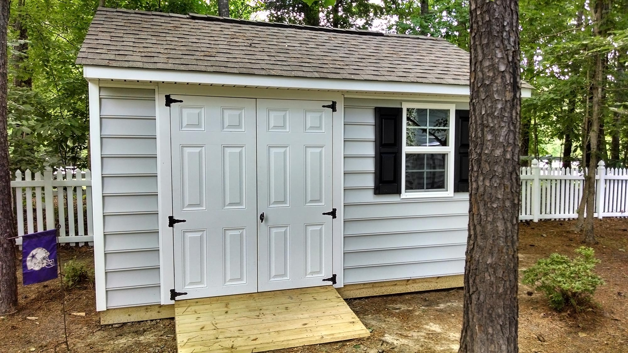 Deck and storage shed midlothian rva remodeling llc for Garden shed on decking