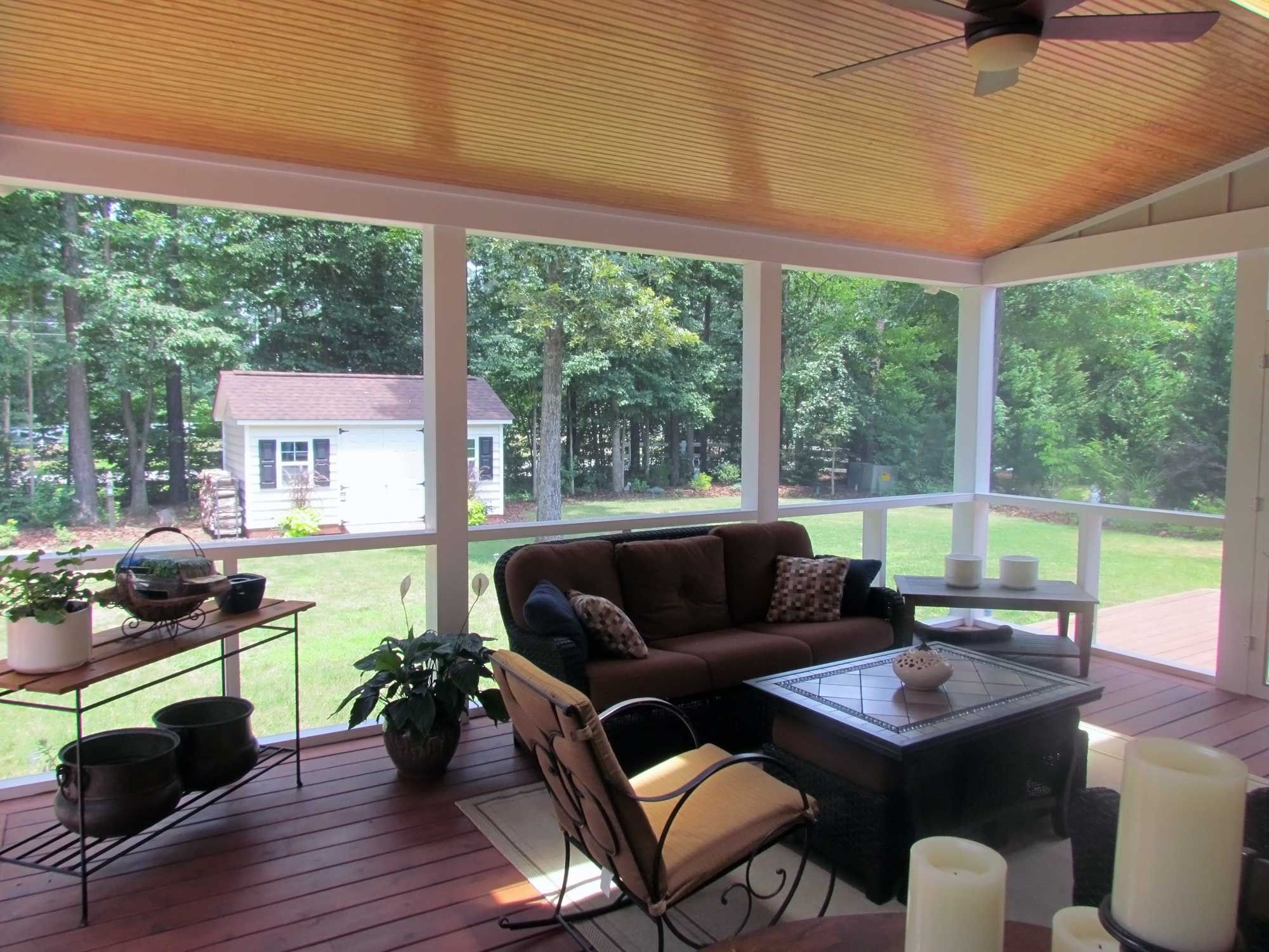 Covered Porch In Midlothian Va Rva Remodeling Llc