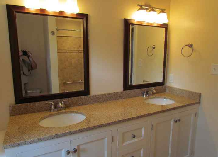 Bathroom Remodeling Projects RVA Remodeling LLC - Bathroom vanity renovations