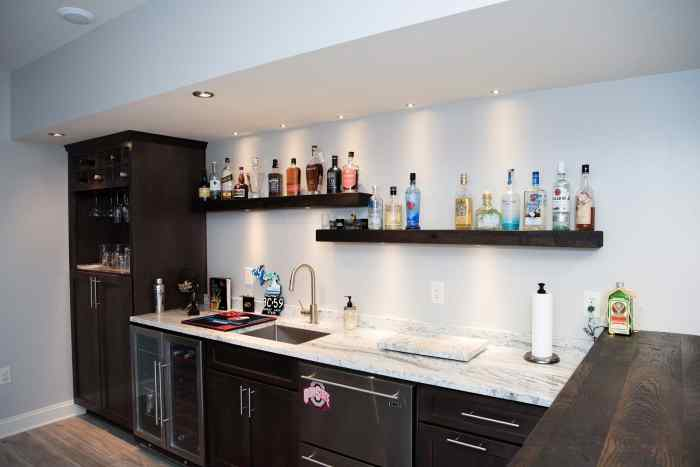 Wet Bar Project in Fox Creek Subdivision VA 4