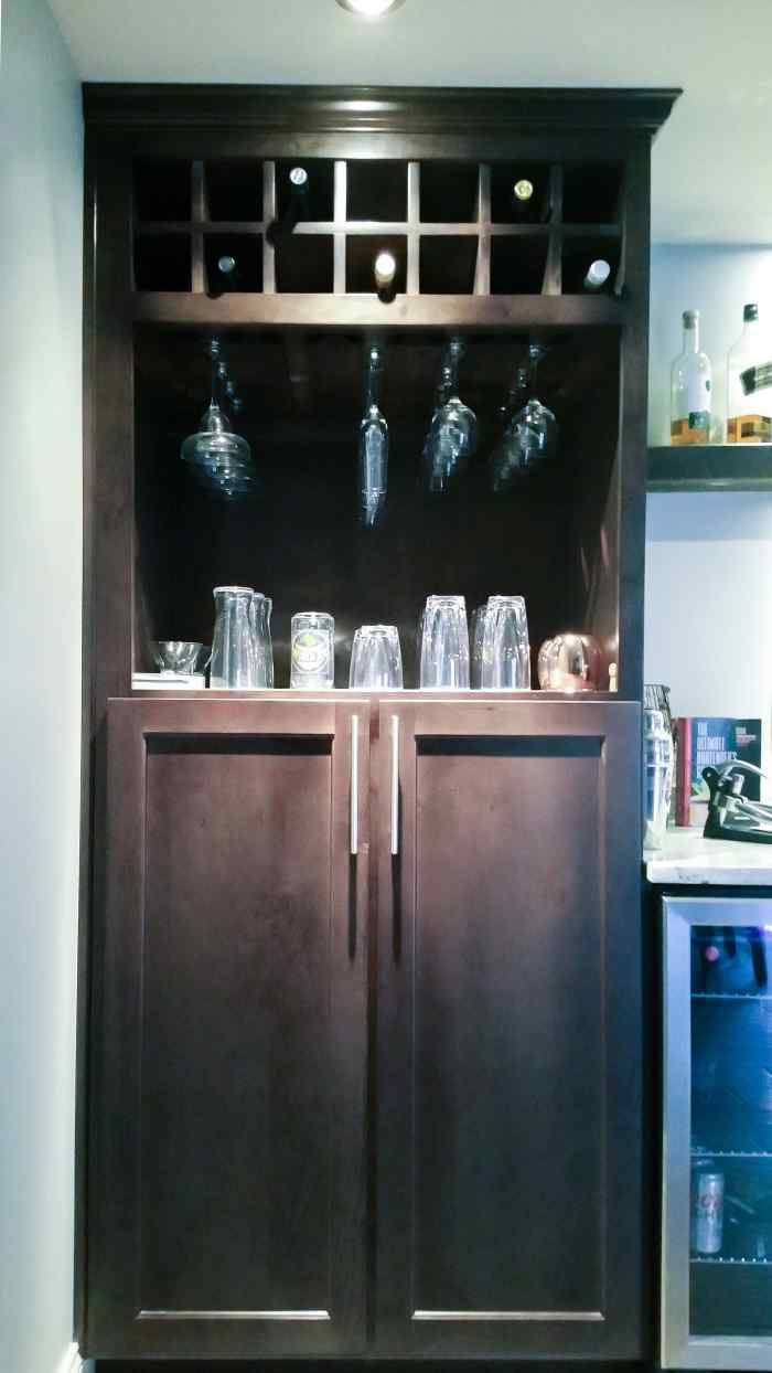 Wet Bar Project in Fox Creek Subdivision VA 9