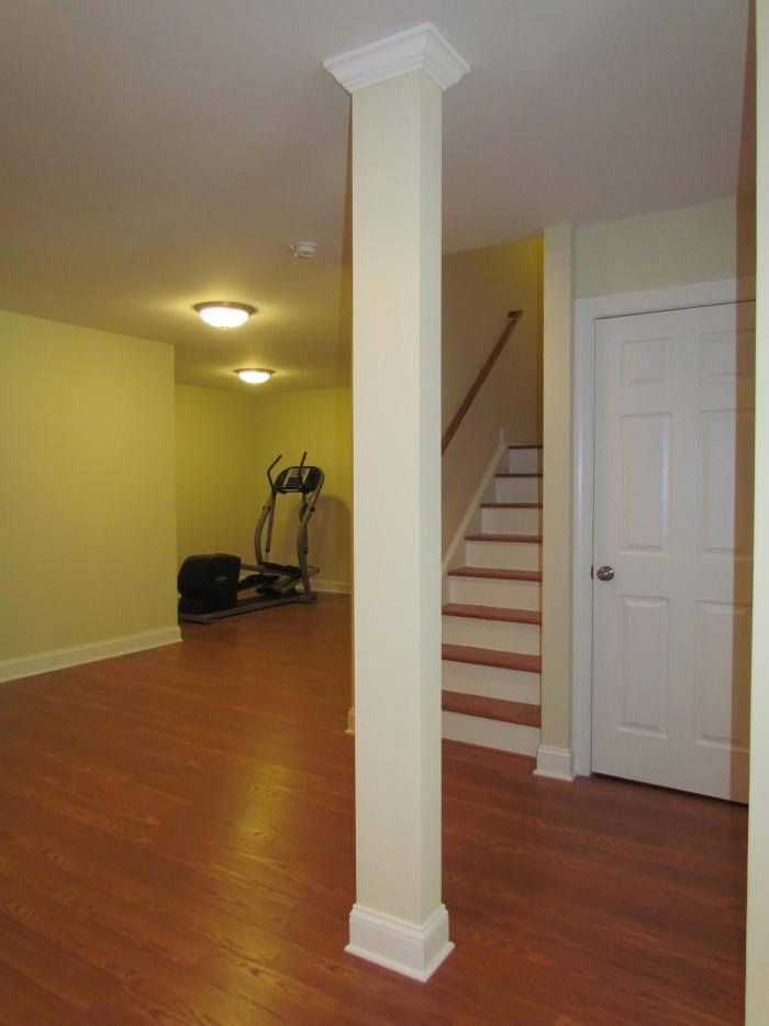 Basement remodeled in Richmond VA