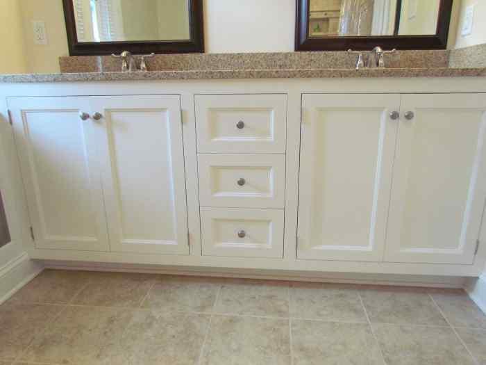 Bathroom remodel - cabinetry