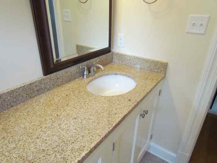 Bathroom remodel - sink