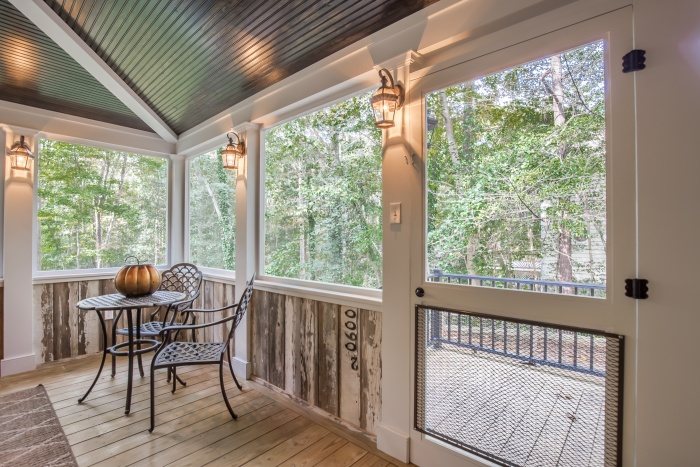 Country style screened porch in chesterfield va rva for Porches login