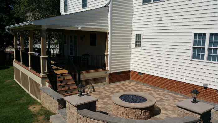 Porch Addition Remodeling Job in Hanover VA 5