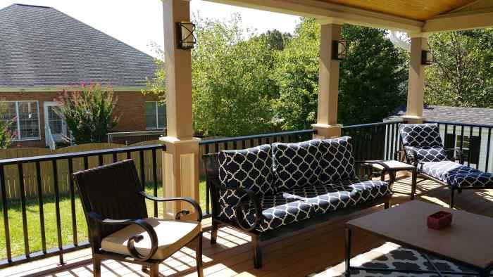 Porch Addition Remodeling Job in Hanover VA 6