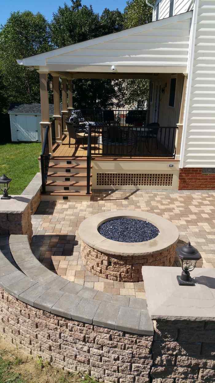 Porch Addition Remodeling Job in Hanover VA9