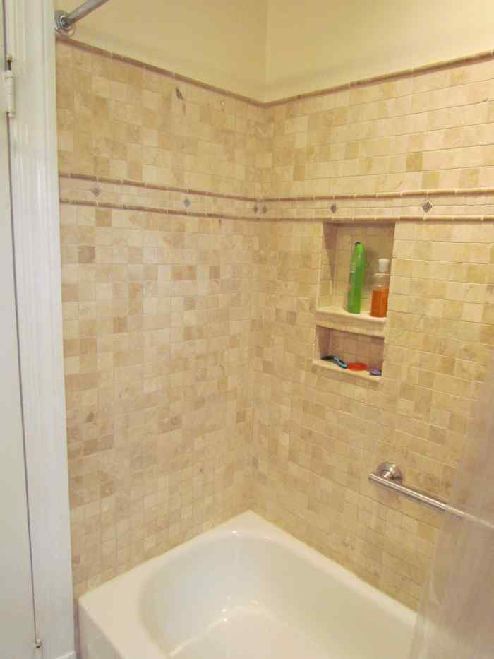 Bathroom remodel - show tub